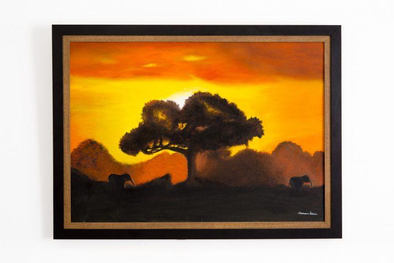 Pintura Óleo – Amanhecer 76x56cm
