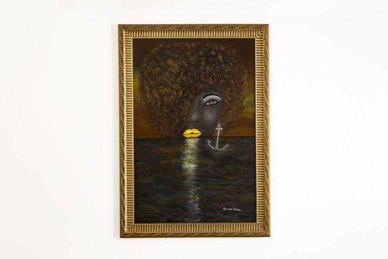 Pintura Óleo – Negra Mar   80x100cm