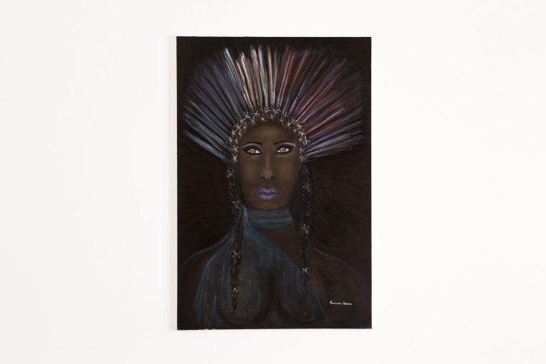 Pintura Óleo – Negrindia   80x100cm