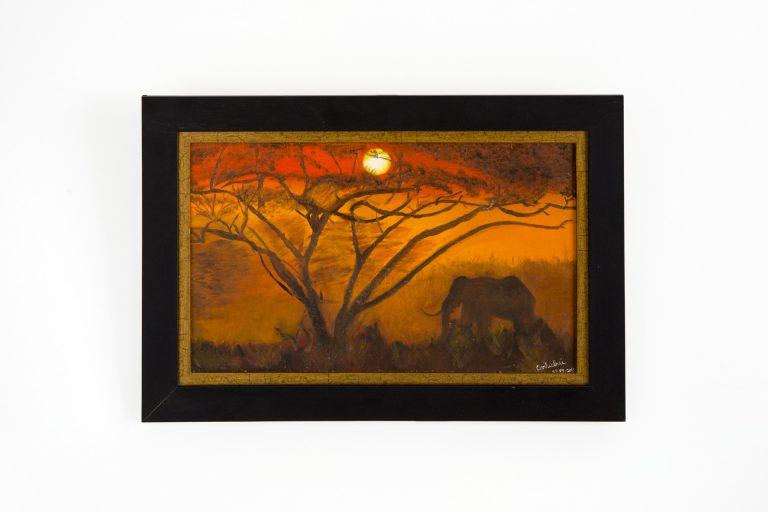 Pintura Óleo – Anoitecer   60x40cm