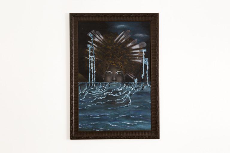 Pintura Óleo – Mar Negra 80x100cm
