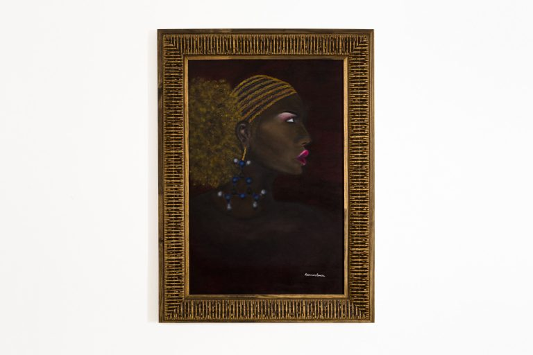 Pintura Óleo – Negra Fé  80x100cm